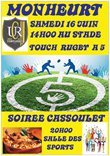 TOUCH' RUGBY 16 JUIN A MONHEURT